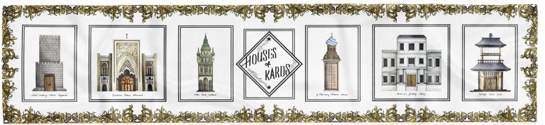 Houses of Kards // Monumental Edition//White Gold
