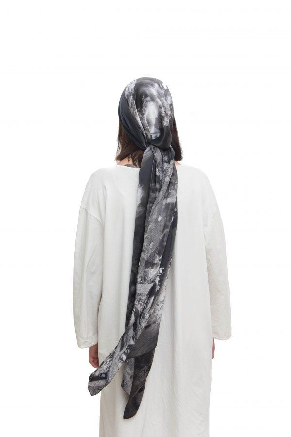 Silk scarf Icarus | MANTILITY | kalafatis | 60x200cm | Men