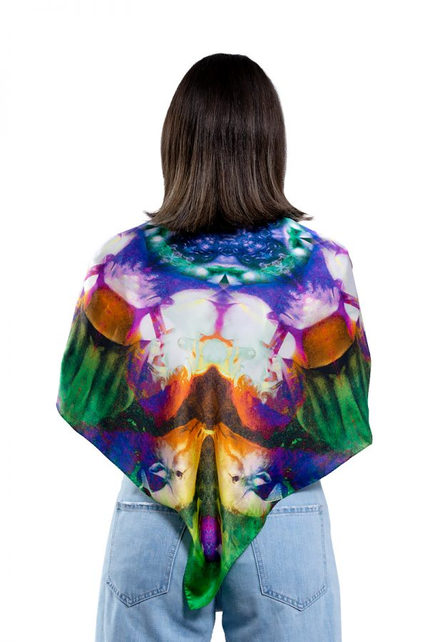 Silk scarf The Sacrifice of Isaac 90x90cm MANTILITY