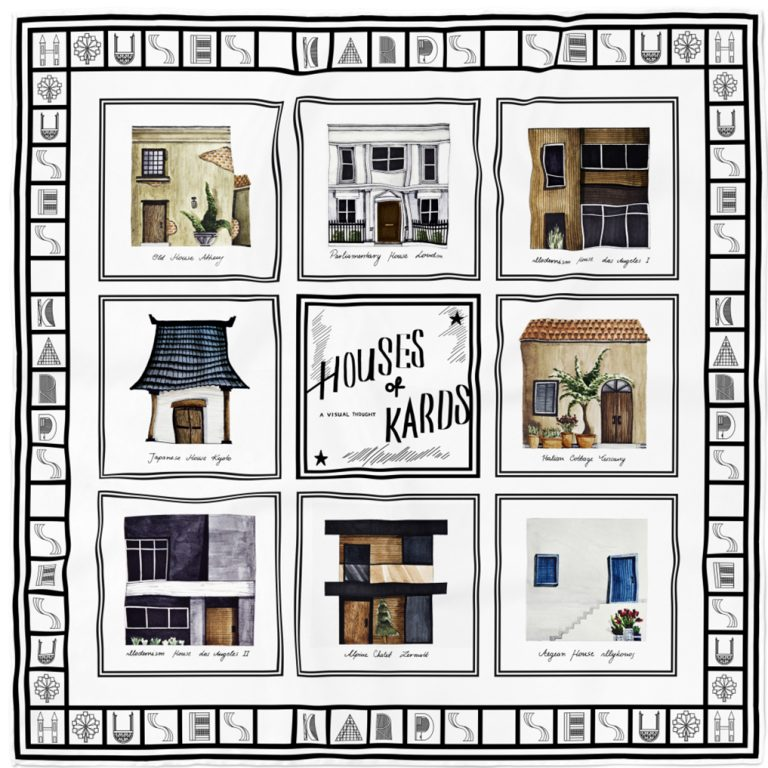 Houses of Kards // An Ode to Square//White