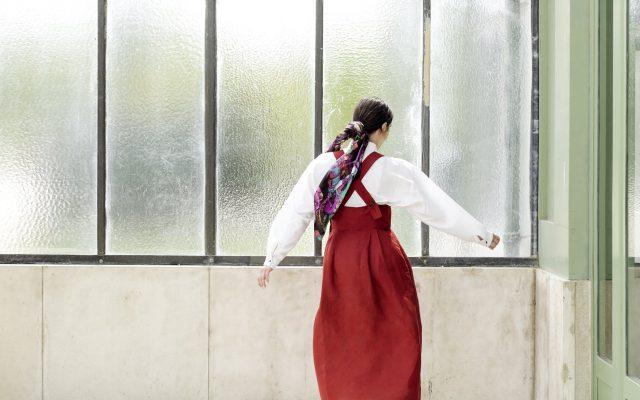 Silk scarf The Peasant Wedding | MANTILITY | 90x90