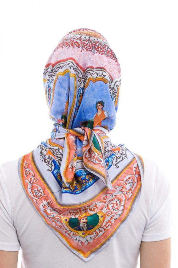 mantility silk scarves kois mansion orofografia