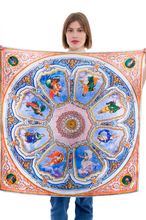 mantility silk scarves kois mansion orofografia
