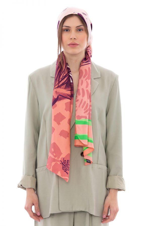 Silk Scarf Japan by Sigma Gamma | MANTILITY